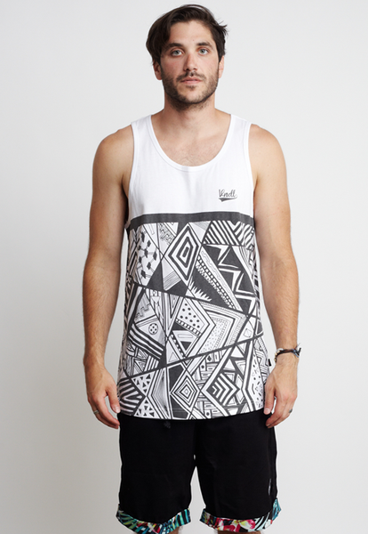 ABSTRACT ANGLES TANK
