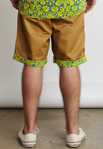 ANCIENT PAISLEY SHORTS