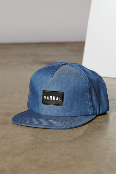 DENIM CHAMBRAY ROOSEVELT STRAPBACK