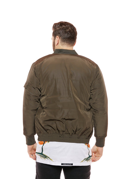 Flightman Padded Bomber Jacket