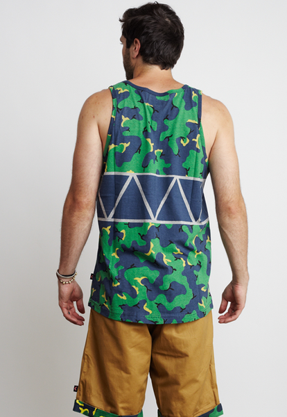 CAMO/TRIANGLES TANK