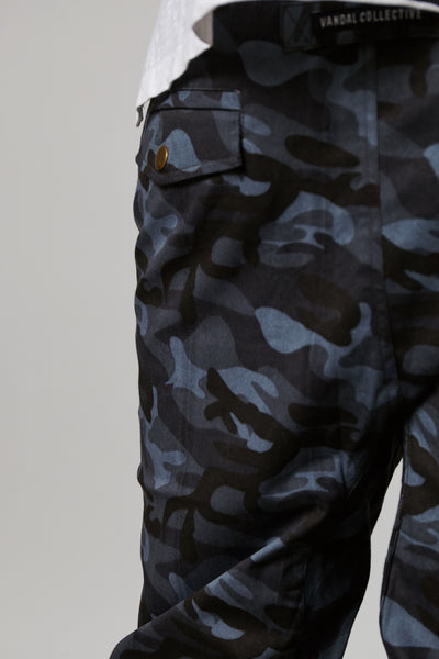 FIXATED CAMO THOMPSON JOGGERS