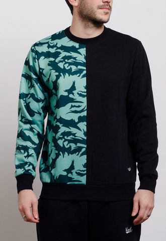 DPM BLUE CAMO SPLIT JUMPER