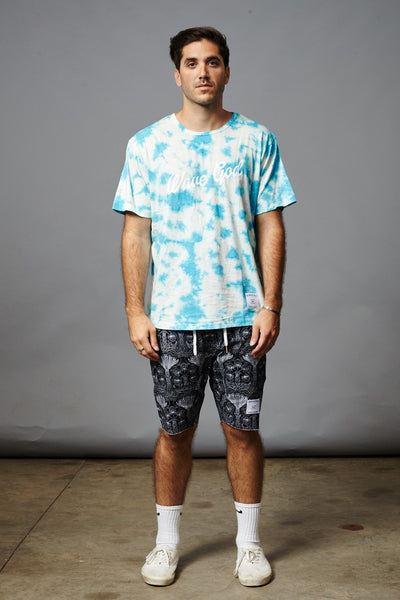 WAVE GOD SPOTDYE SLUB TEE