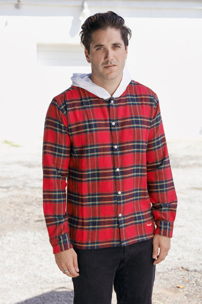 The Albertson Flannel Hood