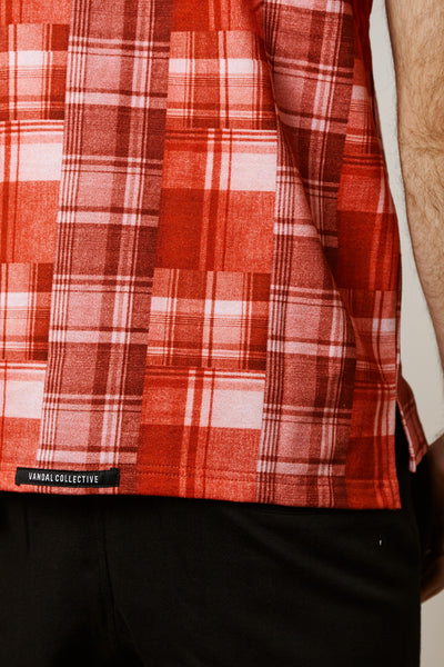 PEMBERTON SOUTH POLO - RED
