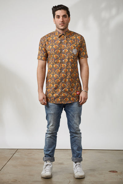 THE INDO PAISLEY SS WOVEN