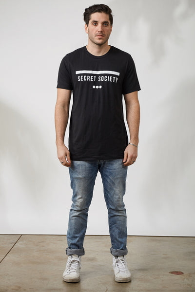 SS13 STAMP TEE - BLK