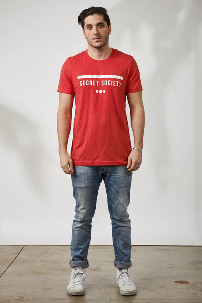 SS13 STAMP TEE - RED
