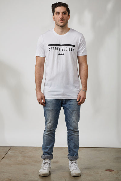 SS13 STAMP TEE - WHT