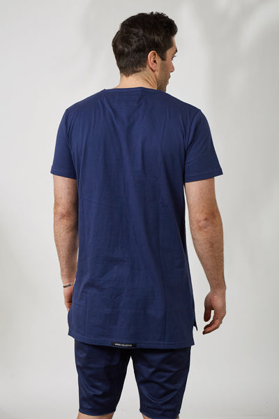 THE KEEPER KENSINGTON TEE- NVY