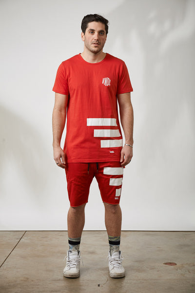 THE KEEPER THOMPSON SHORTS - RED