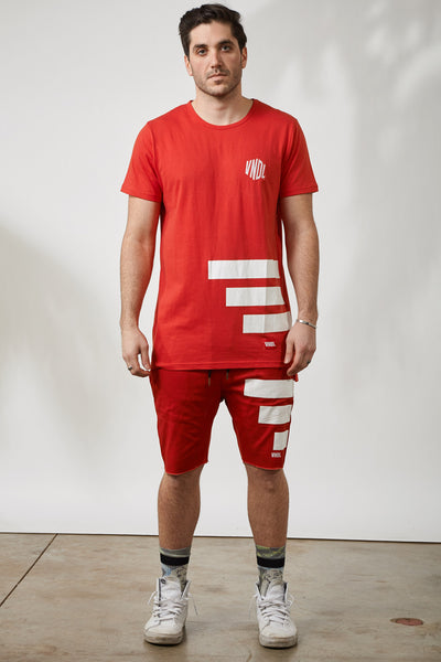 THE KEEPER KENSINGTON TEE- RED