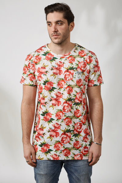 WATERFLORALS KENSINGTON TEE
