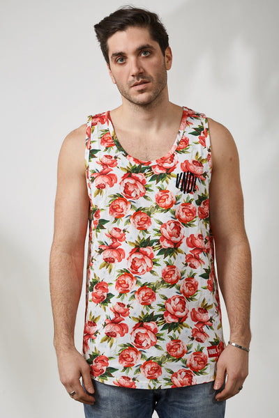 WATERFLORALS LAMAR TANK