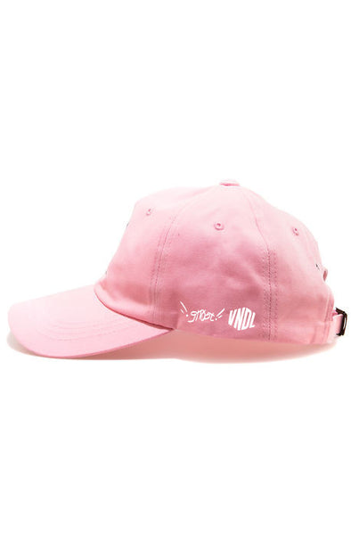 THE VNDL x gHOST CIRCA16 DAD CAP - PNK