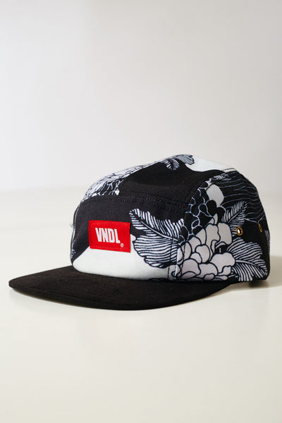 BLACK ROYAL FLORALS ROOSEVELT VOLLEY