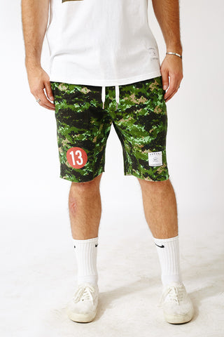 LEGACY CAMO THOMPSON JOGGER SHORTS