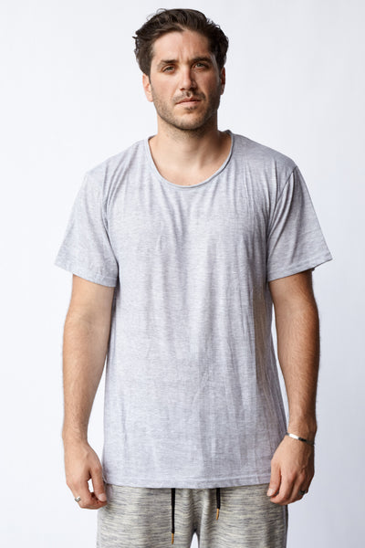 ESSENTIALS® KENSINGTON TEE - HTHR GRY