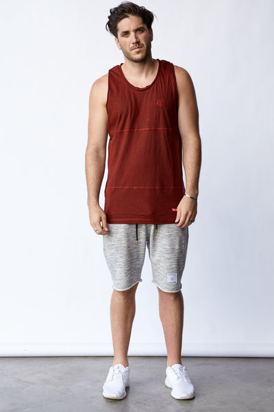 TRI-PANEL LAMAR TANK - RED