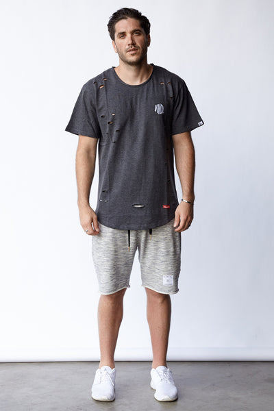 ROUNDERS SCOOP RIPPED TEE