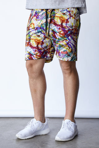 SPLATTER CAMO THOMPSON SHORTS