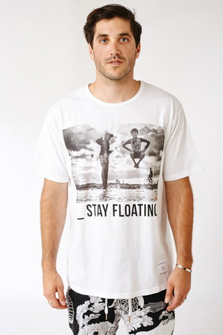 STAY FLOATING KENSINGTON TEE
