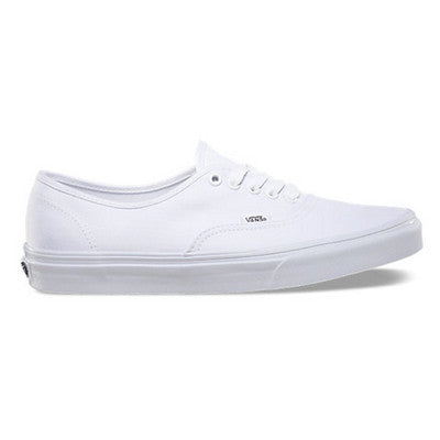EXCLUSIVE Canvas Authentics Vans Classics - WHT