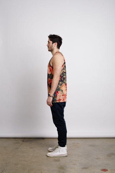 ANTIQUE FLORALS TANK