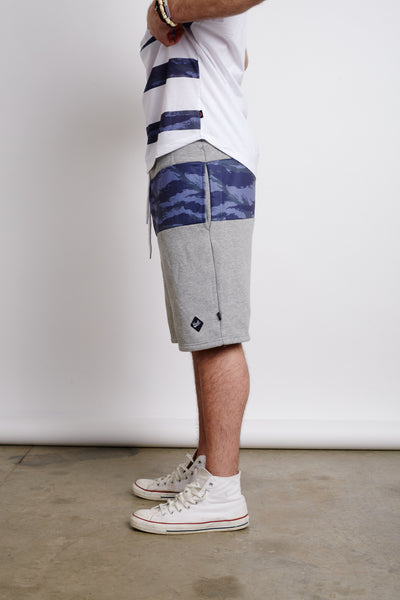 SERBIAN TIGER CAMO STRIPE SHORTS