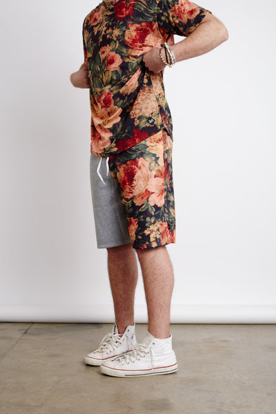 ANTIQUE FLORAL SHORTS