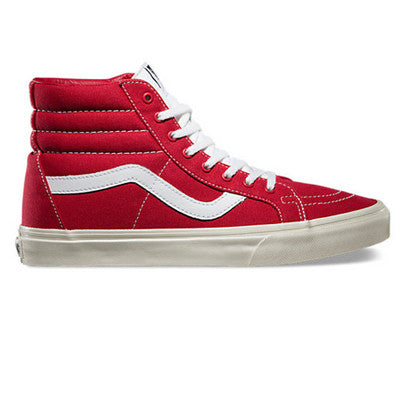 Vans 10oz Canvas SK8-Hi Reissue - RED