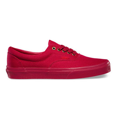 EXCLUSIVE Gold Mono Era Vans Classics - RED