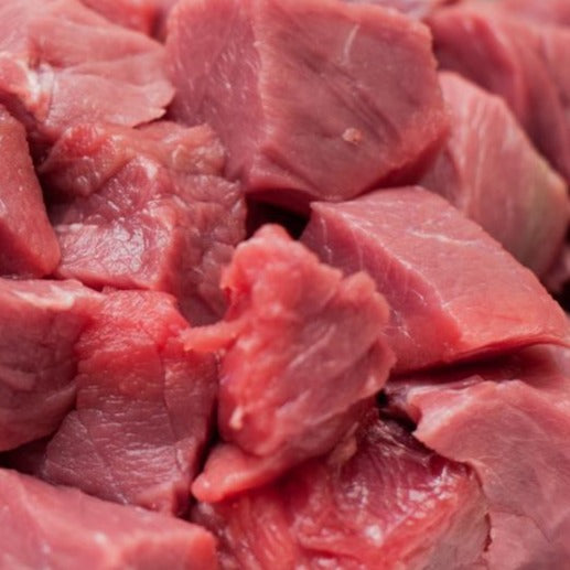 Diced beef (500g)
