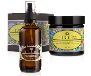 Turbliss | SET ALL SKIN | Maschera di Torba + Tonico