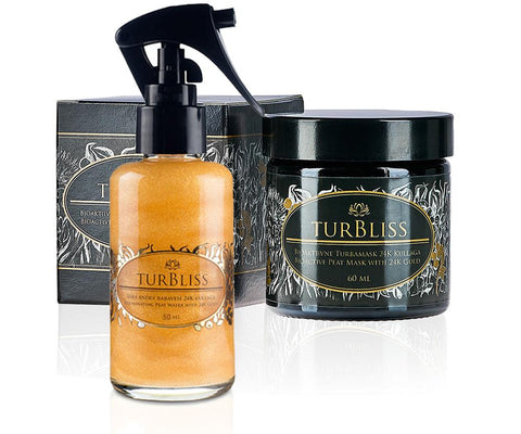 Turbliss | SET GOLD | Maschera di Torba + Tonico