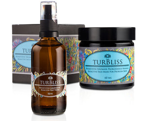 Turbliss | SET PROBLEM SKIN | Maschera di Torba + Tonico