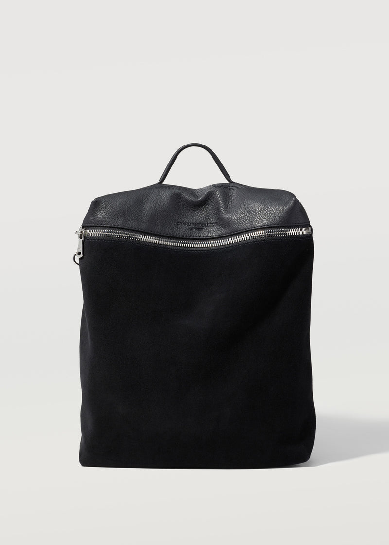 Black Two Tone Medium Backpack