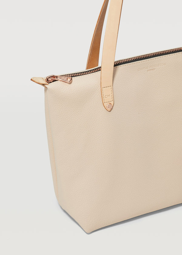 Nude Vogue Mini Bespoke Zip Tote