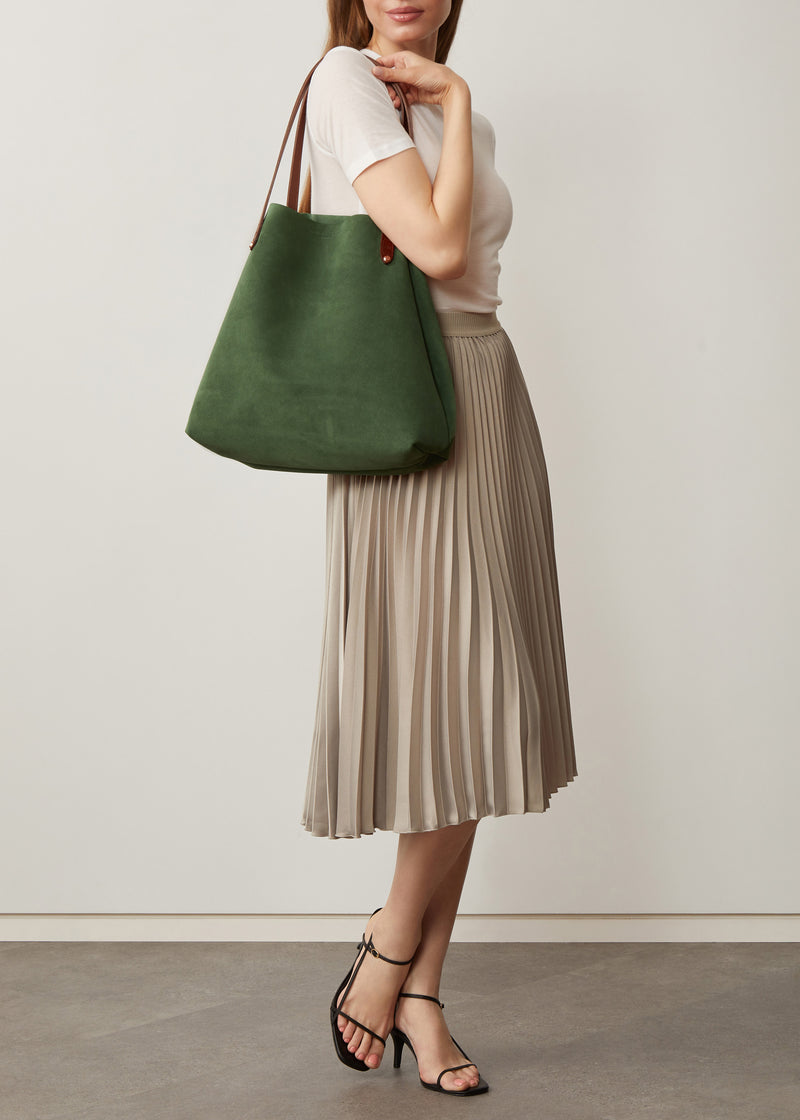 Forest Suede Bespoke Tote