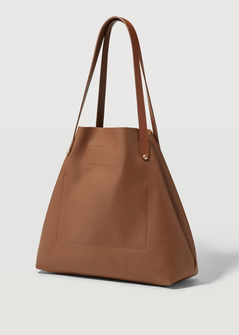 Tan Vogue Bespoke tote
