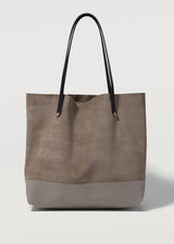 Taupe Two Tone Bespoke Tote