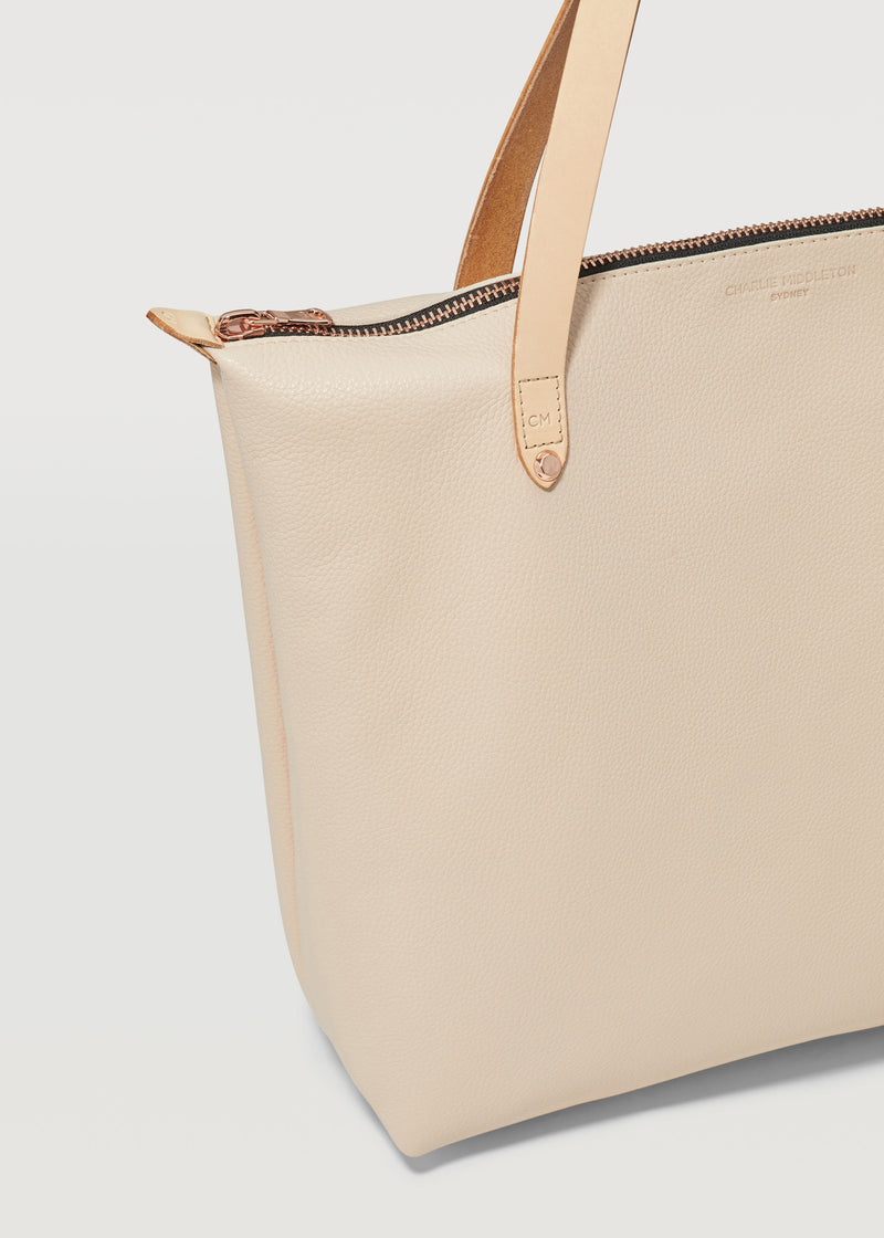 Nude Vogue Bespoke Zip Tote