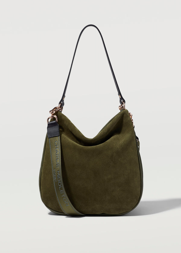 Seaweed Two Tone Billie Shoulder Bag