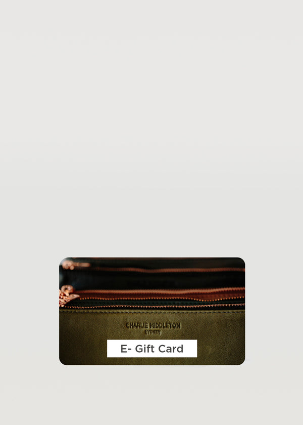 Charlie Middleton Gift Card