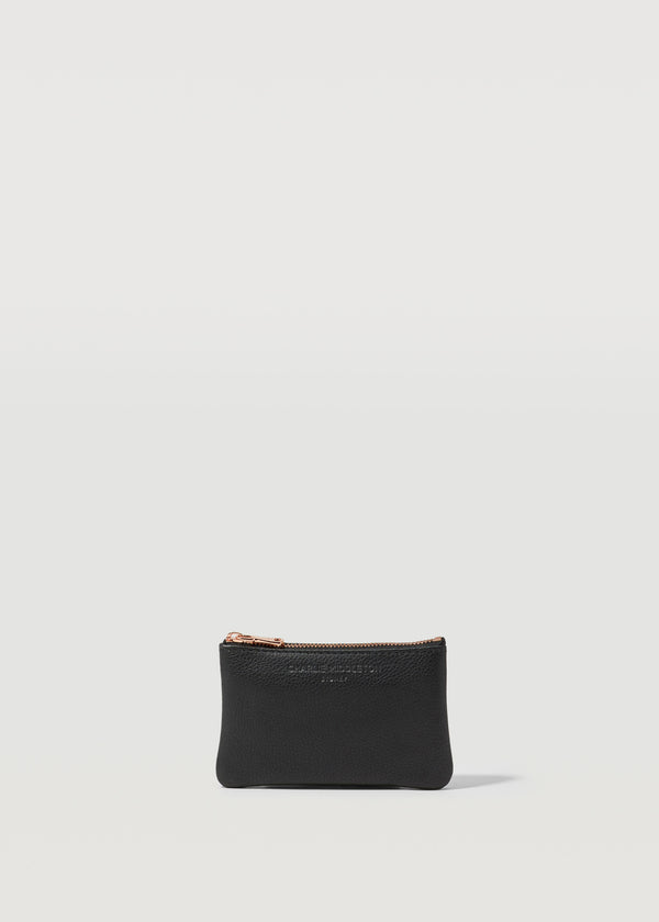 Black Nappa Coin Purse