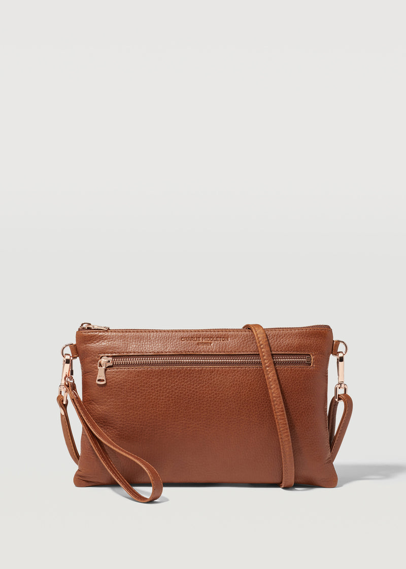 Cedar Dual Zip Crossbody