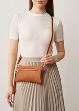 Cedar Mini Dual Zip Crossbody