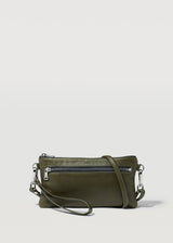Seaweed Mini Dual Zip Crossbody