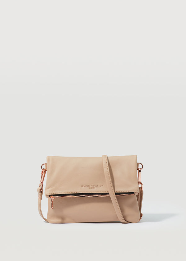 Dusty Pink Mini Weekend Crossbody